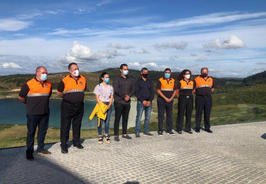 O Parador de Muxía acolle o acto de toma de posesión de Arturo Fuente Pedrejón como presidente de Protección Civil de España