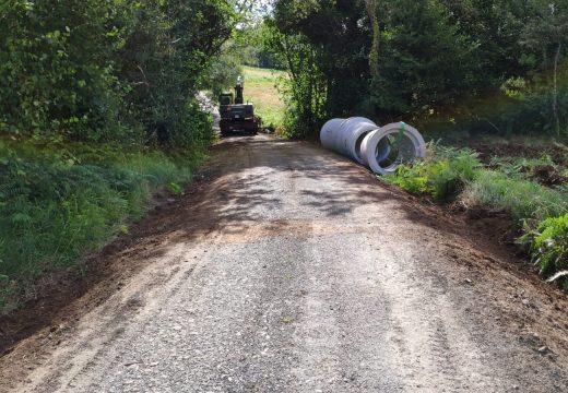 Avanzan en Moeche as obras cofinanciadas polo Concello e o Plan de Camiños da AGADER