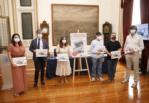Rey destaca o labor da Asociación da Prensa por concentrar dun xeito orixinal e gráfico a historia da Coruña nun calendario