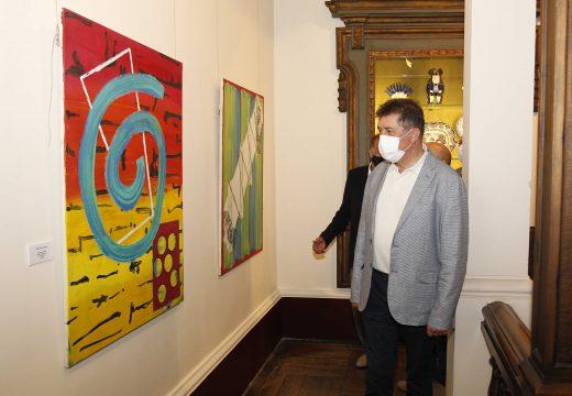 """A ruta xacobea pasa pola Real Academia de Belas Artes coa exposición """"Facer camiño"""""""
