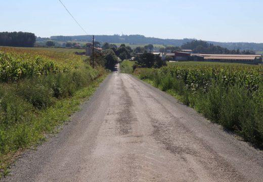 O Concello de Frades inviste 82.000 € no arranxo do camiño Fondevila-Cheda e na mellora dos accesos a O Canedo e Fondevila
