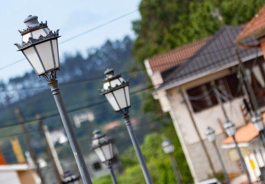 O Concello de Moeche renovará a iluminación nas rúas da Feira e Andrés Gregorio Pérez Soto