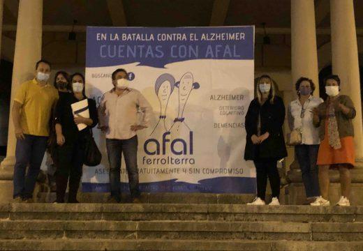 «Na batalla contra o alzheimer contas con Afal»