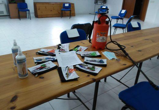 Novo curso do programa de Prevención da Dependencia de Boqueixón con todas as medidas de prevención contra a COVID-19