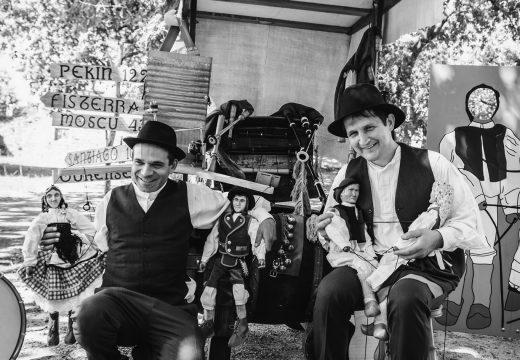 O grupo Os Monifates ofrecerá un concerto gratuíto mañá venres na Praza do Curro de Noia
