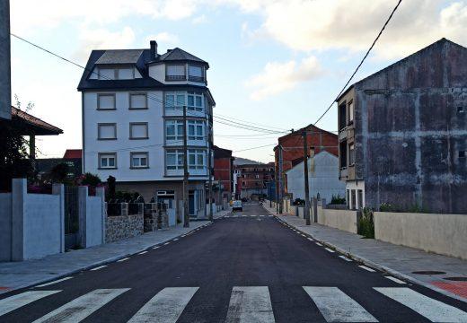 Camariñas finaliza a reurbanización da rúa Río do Prado