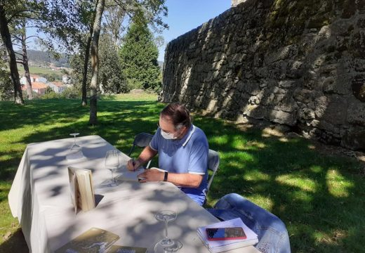 O Castelo de Vimianzo acolle a presentación do libro 'O Tesouro de Brando', de Manuel Regueiro