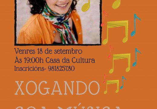 """O Concello de Lousame organiza o obradoiro """"Xogando coa música"""", con Esperanza Mara e dirixido a crianzas a partir dos 3 anos"""