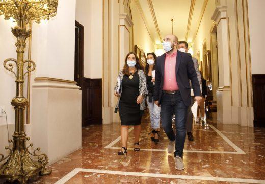 Inés Rey trasladará á Fiscalía que se ocupe da denuncia do Goberno contra Tebas e o Fuenlabrada todas as accións xudiciais iniciadas polo Concello