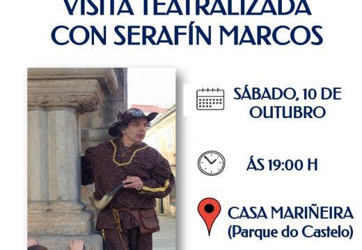 Última visita teatralizada pola Pobra da man de Serafín Marcos