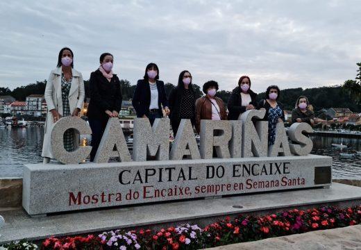 Conmemoración Día Contra o Cancro de Mama en Camariñas