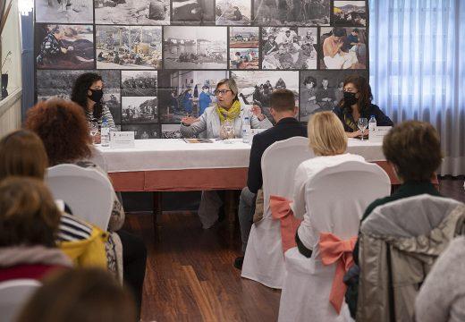 A Xunta pon en valor a diversificación do oficio das redeiras cara a outros eidos como a artesanía e o turismo
