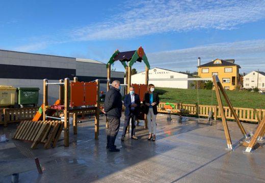 A Xunta achega preto de 34.000 euros para a construcción dun Parque Infantil cuberto no