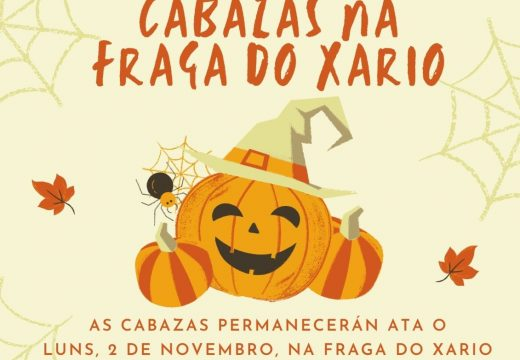 O Concello de Miño celebrará Samaín cun concurso de creación de cabazas, que se expoñerán na Fraga do Xarío