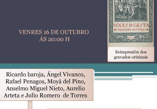As Xornadas de Homenaxe a Valle-Inclán arrancan cunha exposición e teatro