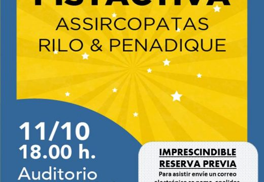 O Auditorio de Ribeira dará cabida a un espectáculo circense coas actuacións de asSircópatas e Rilo & Penadique