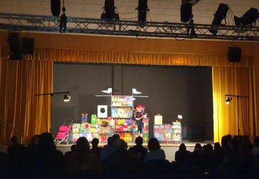 Máis dun cento de persoas participaron nos tres espectáculos do ciclo de teatro Escena Pequena de Boqueixón
