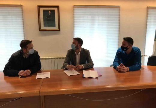 O delegado territorial da Xunta, Gonzalo Trenor, realiza unha visita institucional a Mugardos