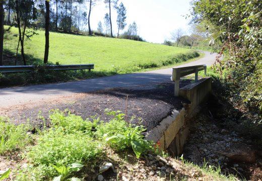 O Concello de Frades inviste case 28.000 euros no arranxo de tres pontes danadas polos temporais do pasado inverno