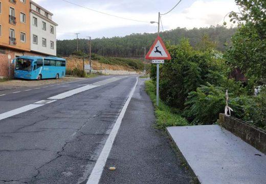 Camariñas e Vimianzo solicitan á Xunta a mellora da seguridade viaria entre Ponte do Porto e Lexas