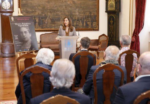 Rey reivindica o feminismo e a defensa dunha escola pública coma a que realizou María Barbeito