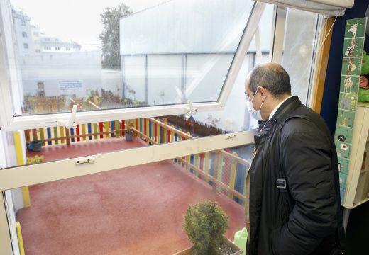 O concello finaliza os traballos de impermeabilización da Escola Infantil Municipal Carricanta