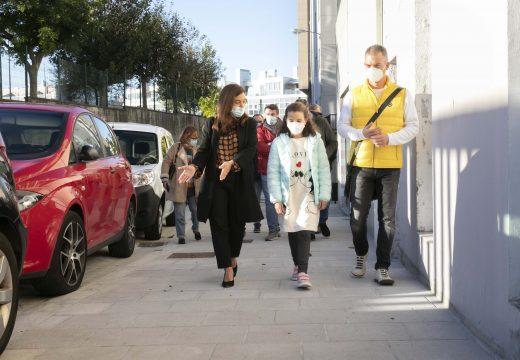 O concello responde á demanda veciñal de Monte Alto e aumenta a seguridade e accesibilidade peonil no barrio