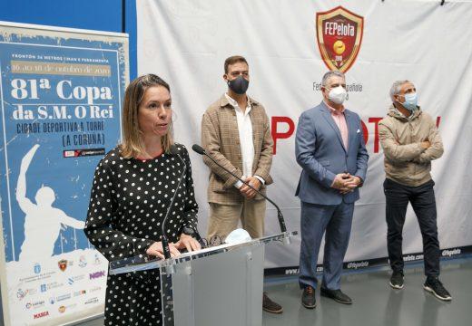A 81.a Copa do Rei de pelota reúne na Coruña as e os mellores pelotaris do país
