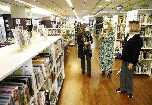 A alcaldesa anuncia a ampliación do horario das bibliotecas e a reactivación das súas actividades