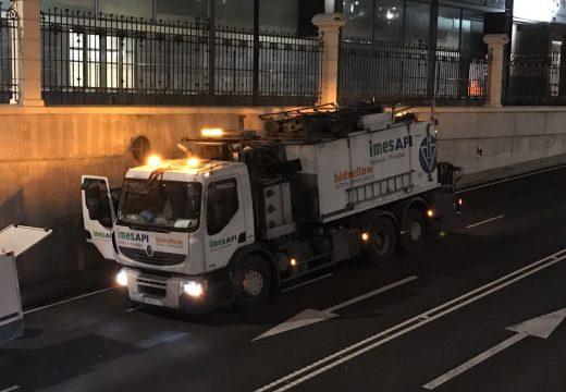 O concello comeza mañá os labores de limpeza dos túneles da cidade