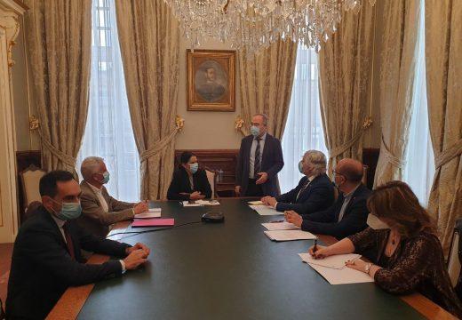 O Concello e a Xunta acordan a composición do grupo de expertos para a recuperación das estatuas do Mestre Mateo