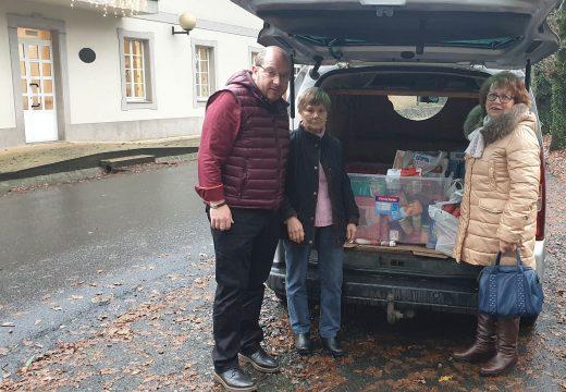 O Concello de Frades e Cáritas organizan a sétima campaña de Nadal para a recollida de alimentos para familias necesitadas