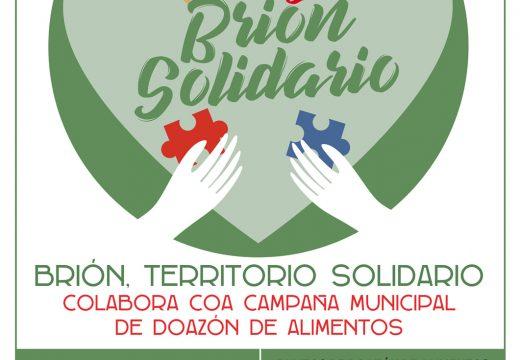 """""""Brión Solidario"""" pon en marcha a novena campaña de recollida de alimentos polo Nadal"""