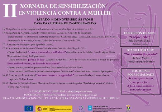 O CIM de Boqueixón organiza unha programación especial con motivo do Día Internacional contra a Violencia de Xénero