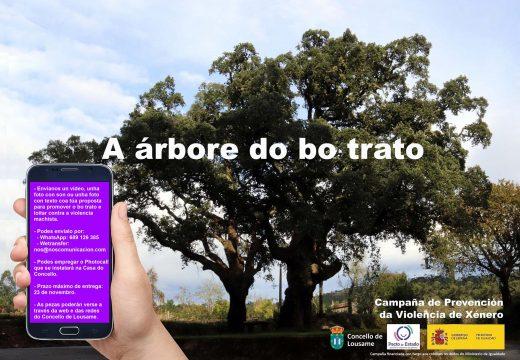 """O Concello de Lousame conmemorará o Día contra a Violencia de Xénero de forma en liña coa campaña """"A árbore do bo trato"""""""