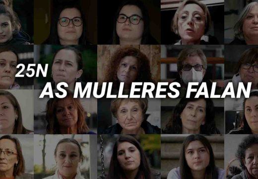 Estrea do vídeo 25N: As mulleres falan polo Día Internacional da Eliminación da Violencia contra a Muller