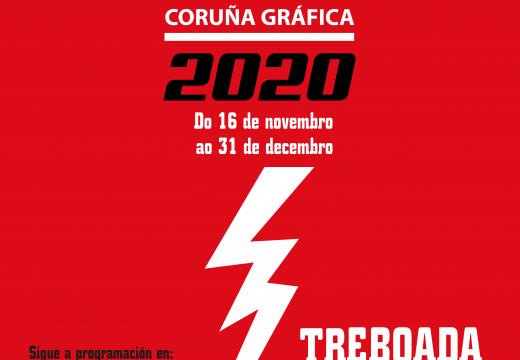"""Comeza """"Coruña Gráfica 2020"""", que amosará o talento local con actividades 100% en liña"""