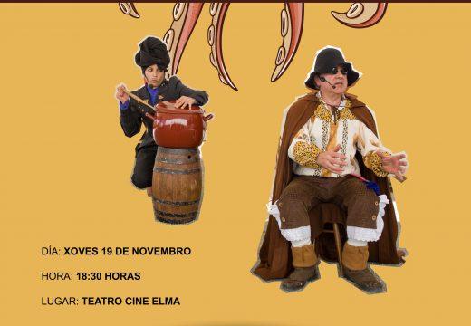 O espectáculo Polo Camiño, contos da feira chega no 19 de novembro á Pobra