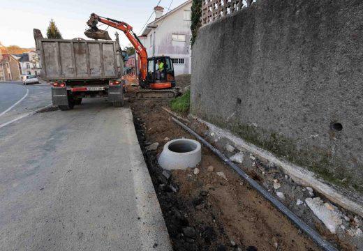 San Sadurniño dedica cerca de 100.000 euros a infraestruturas relacionadas coa auga e o saneamento