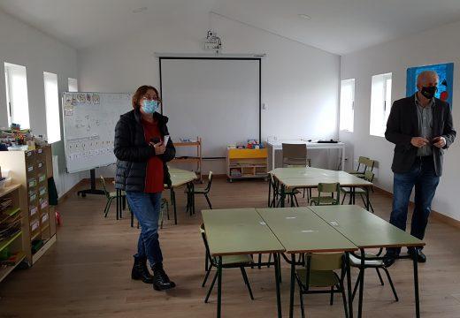 Comezan as obras de acondicionamento na escola da Angustia