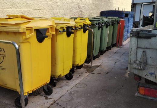 Camariñas renova e aumenta os contedores de todo o municipio