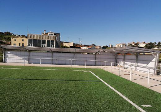 O Concello investirá máis de 250.000 euros en mellorar os campos de fútbol de San Pedro de Visma