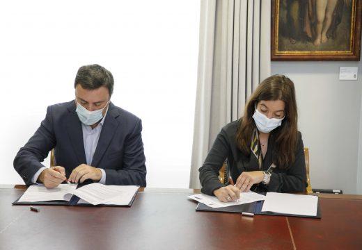 Concello e Deputación asinan un convenio para financiaren con 422.000 euros a Casa de Acollida para Mulleres e os pisos de transición