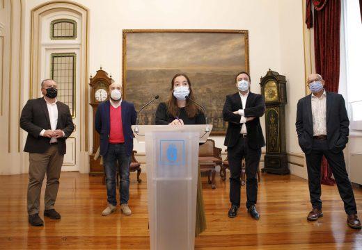 Concello e Deputación coordinarán axudas por un importe de 1,2 millóns de euros dirixidas á hostalaría e ao comercio