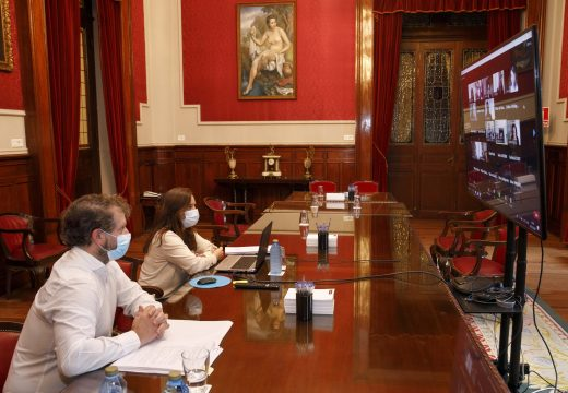 Inés Rey asume a vicepresidencia da Rede de Cidades Atlánticas nos próximos tres anos