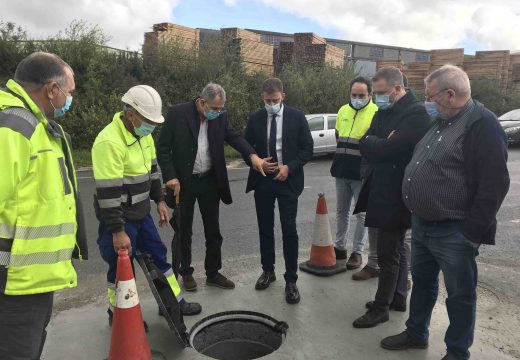 A Xunta destina máis de 69.000 á mellora da rede de hidratantes no Polígono Industrial de Bértoa
