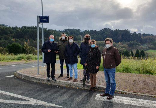 O Concello finaliza as obras de urbanización da rúa Pontigo, en Costa Miño