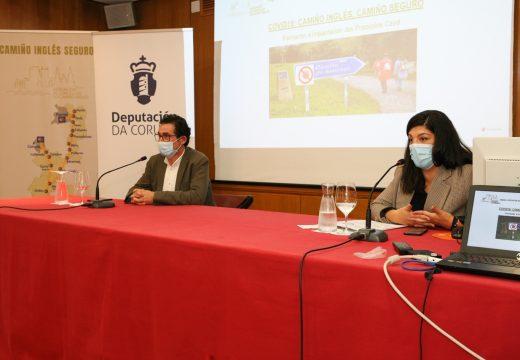 A Asociación de Concellos do Camiño Inglés e a Deputación da Coruña formarán a 75 profesionais na implantación de plans de continxencia fronte á Covid-19