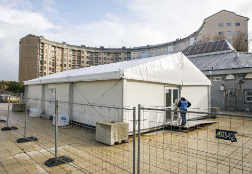 O Concello instala un mercado provisional en Durmideiras mentres dure a reforma da praza de abastos actual